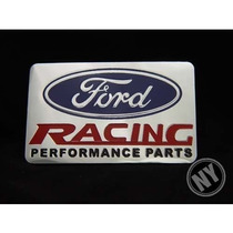 Emblema Ford Racing Focus Ecosport Fusion Turbo Fiesta Ghia!