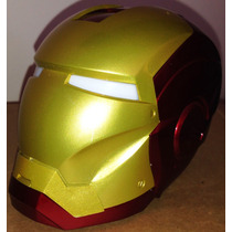 Mini Radio Iron Man Caixa De Som Fm / Sd / Pen Drive / Aux
