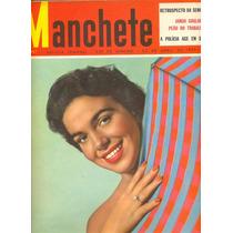Manchete N° 157 - Audrey Hepburn - Lucho Gatica No Rio