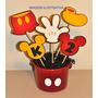 Toppers Gigantes Para Enfeite De Mesa Mickey Personalizados