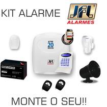 Kit Central De Alarme + Acessórios Jfl - Monte O Seu !!