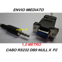Cabo Serial Rs232 Null Modem Db9 Fêmea X P2 ( Recovery )