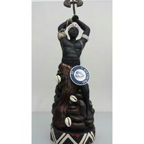 Imagem De Resina De Xangô Africano Umbanda Candomblé