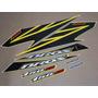 Kit Adesivos Honda Nxr 150 Ks Bros 2008 Amarela - Decalx