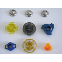 Beyblade Kit Com Eixo + Ponta 4d + Parafuso Earth Virgo
