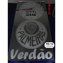 Relógio De Parede Do Palmeiras Em Espelho