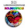 Adesivos Holográficos3d Rót.personalizados-tubetes- Latinhas
