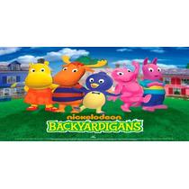Big Painel Backyardigans 2,00 X 1,00 - R$45,00 Confira!