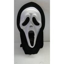 Máscara Pânico Com Capuz De Pano Para Festas E Halloween