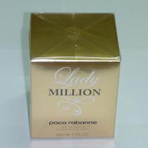 Perfume Feminino Lady Million 80ml 100% Original