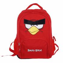Mochila Angry Birds Red Tam. M Escolar Infantil Abm601803
