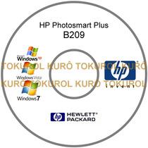Cd De Instalação Impressora Hp B209 (xv7) - Frete Grátis