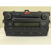 Radio Original Toyota Corolla 2010/2011 Novo,nunca Foi Usado