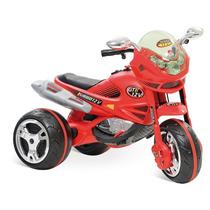 Moto Elétrica Infantil Super Moto Gt Turbo Vermelha 12v
