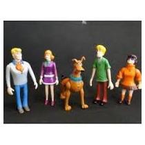Eletronico Scoobydoo Latidos Kit Com 05 Bonecos