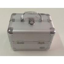 Maleta Para Maquiagens E Cosméticos Rubys Fs-1142a Cor:prata