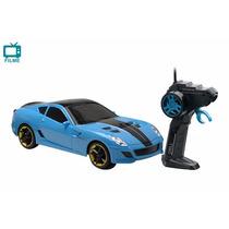 Carro Controle Remoto Drill Azul Candide