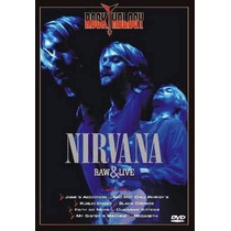 Dvd Nirvana Raw & Live Original Lacrado