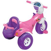 Motoca Grande Meninas Triciclo Baby Magic Toys