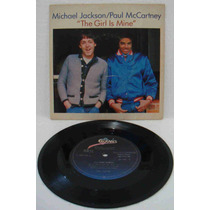 Paul Mccartney & Michael Jackson Compacto Vinil The Girl Is
