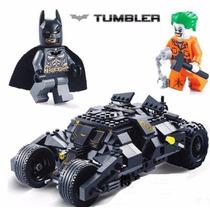 Batmóvel Tumbler Batman Coringa Tanque 325 Peças = Lego