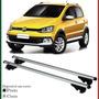 Par De Travessa Rack De Teto Longarinas Volkswagen Cross Fox