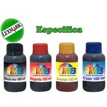 Kit Tintas Especifica P/ Recarga Cartucho Impressora Lexmark