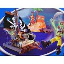 Capitão Gancho Inimigo Peter Pan Aventuras No Mar Barco
