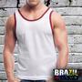 Camiseta Regata Colegial - Malha Dry Fit - Aerosoft