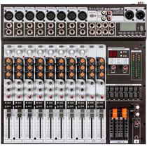 Mesa Som 12 Canais Soundcraft Sx 1202 Fx C/ Usb