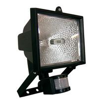 Kit Refletor Sensor De Presença Lâmpada Halogena Completo