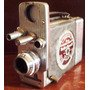 141 Prd- Antiga Filmadora Bell E Howell 16mm- Analógica 1951