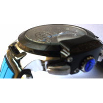 Relógio Masculino Azul Tissot Azul Preto Funcional Safira