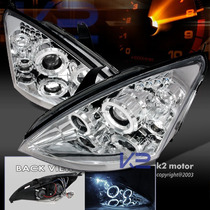 Tuning Imports Farol Projector Angel Eyes Ford Focus 98/08