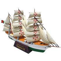 Papel Modelismo 3d - Navios Do Mundo - Sagres Ii
