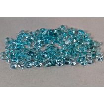 Rsp 730 Topázio Azul Volta 6mm - Preço Por Pedra 1,1ct
