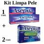Kit Asepxia 1 Gel Antiacne Camuflagem + 2 Sabonetes Herbário