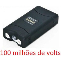 Máquina Aparelho De Choque Lanterna Defesa Pessoal 100.000kv
