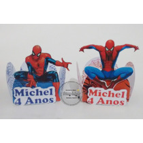 Forminhas Personalizadas 3d Homem Aranha