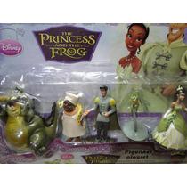 Bonecos Princesa Sapo Tiane Bolo Festa Aniversario Evento