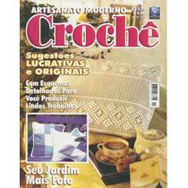 276 Rvt- Revista Artes- Artesanato Moderno- Crochê Nº. 01