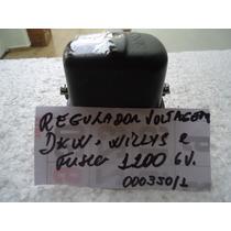 Regulador De Voltagem Dkw Fusca E Willys 6 V Peça Nova .