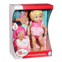 Boneca Interativa Little Mommy Hora De Ir Ao Banheiro