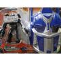 Mascara & Veiculo Transformers Super Policeman
