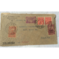 Envelope Circulado Via Condor 1932 Porto Alegre X Bahia