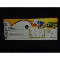 Ingresso Da Copa Das Confederações Brasil X Italia