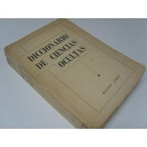 Diccionario De Ciencias Ocultas - Maestri