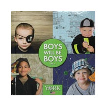 Papel De Parede Importado Boys Will Be Boys - Vinilico