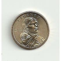 Moeda Um Dólar Eua ¿ Native American ¿ 2013 ¿ Uncirculated