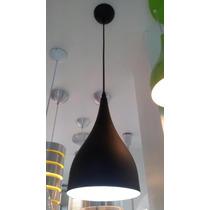 Pendente Um 1copo Preto - 1 Lamp E-27 Max 20w